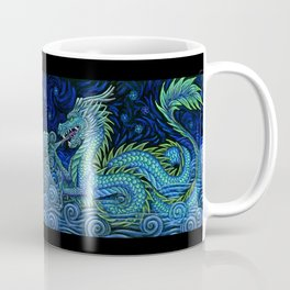Chinese Azure Dragon Coffee Mug