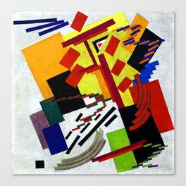 Olga Rozanova Suprematism Canvas Print