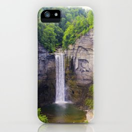 Taughannock Falls, Ithaca NY iPhone Case