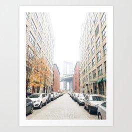 brooklyn streets Art Print