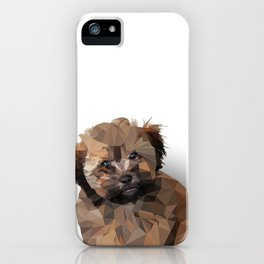 Cocoa, the puppy iPhone Case