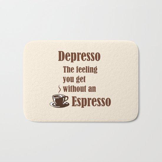 Espresso Bath Mat