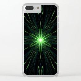 Green Lantern Clear iPhone Case