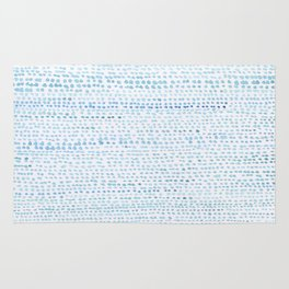 BLUE/GREEN DOTTED PATTERN  Rug