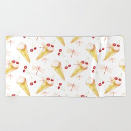 Dragonfly Chill Beach Towel