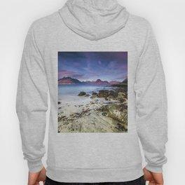 Beach Scene - Mountains, Water, Waves, Rocks - Isle of Skye, UK Hoody