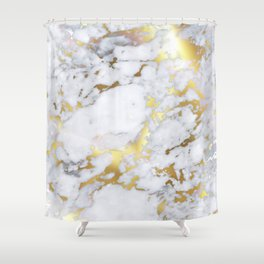 Original Gold Marble Shower Curtain