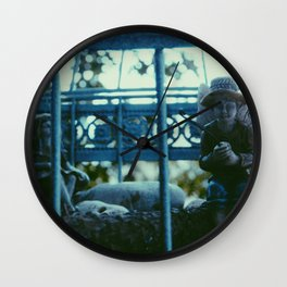 Tennessee Fairies Wall Clock