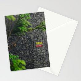 Chemin de randonnée, azores Stationery Cards