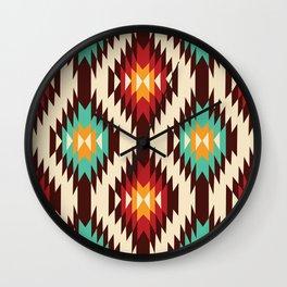 American Native Pattern No. 19 Wall Clock