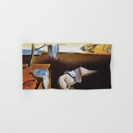 THE PERSISTENCE OF MEMORY - SALVADOR DALI Hand & Bath Towel