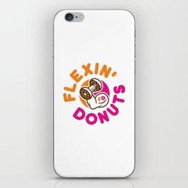 Flexin Donuts iPhone Skin