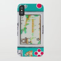 donkey kong iPhone & iPod Cases featuring DONKEY KONG RETRO GAME by BESTIPHONE5CASESHOP