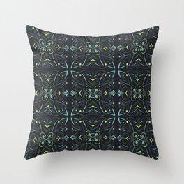 Scandifolk Throw Pillow