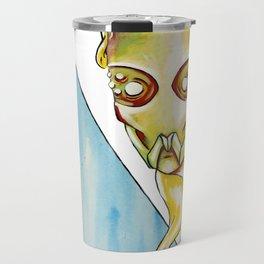 Unknow : Acrylic Painting Travel Mug