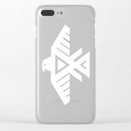 Thunderbird flag - HD image inverse Clear iPhone Case