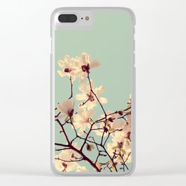 Spring Skies Clear iPhone Case