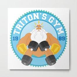 Triton's Gym Metal Print