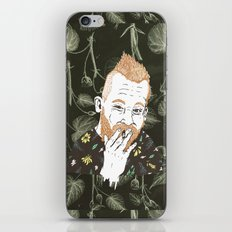 HIMSELF iPhone & iPod Skin