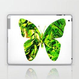 Fluid Butterfly (Green Version) Laptop & iPad Skin
