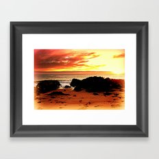 South Coast - Australia Framed Art Print