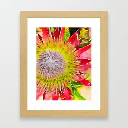Hawaiian Flower Framed Art Print