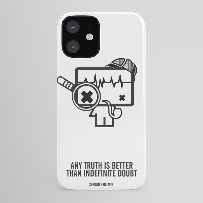 Sherlock Holmes iPhone Case by thecuriousbrain