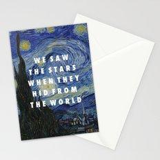Starry Step Stationery Cards