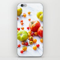 tennessee iPhone & iPod Skins featuring Tennessee Tomatoes by Lindsay Landis