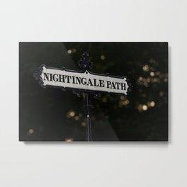 Nightingale Path Metal Print
