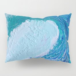 """""""Pacific Wave"""" by Laurie Ann Hunter Pillow Sham"""