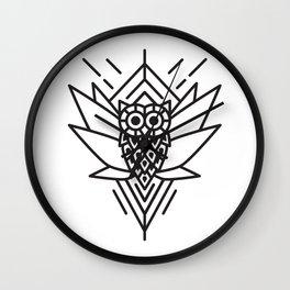 Owl Minimal Wall Clock