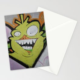 Scary monster. Stationery Cards