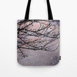 Dusky Winter Days Tote Bag