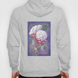 Painted Roses for Wonderland's Heartless Queen Hoody