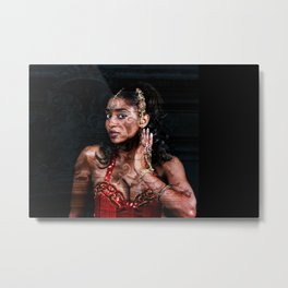 Baroque meets Orient Metal Print
