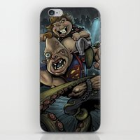 the goonies iPhone & iPod Skins featuring The Goonies by flylanddesigns