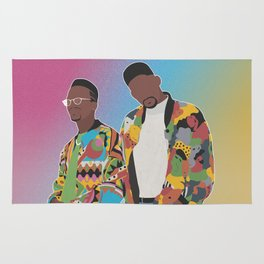 DJ JAZZY JEFF & THE FRESH PRINCE Rug