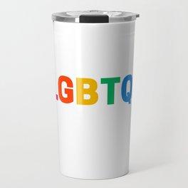LGBTQI Travel Mug