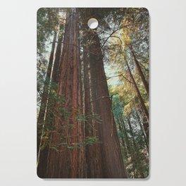 Redwood Trees Cutting Board