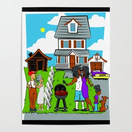 Reverse Gentrification Poster