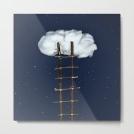 Stairway to the clouds Metal Print