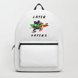 Later Haters - Goofy Backpack