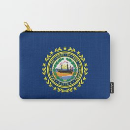 New Hampshire State Flag Carry-All Pouch