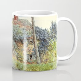 Helen Allingham - Hook's Farm, Freshwater, Isle of Wight - Digital Remastered Edition Coffee Mug