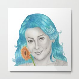 Have a Beautiful Day2 / Hair Day2 Metal Print