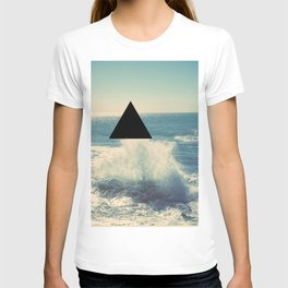 Where The Ocean Meets The Sky T-shirt