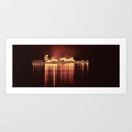 Lake Palace  Art Print