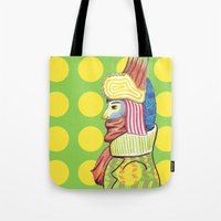 broadway Tote Bags featuring Broadway by Adrienne S. Price