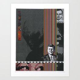 Collage #15 (A Patsy) Art Print